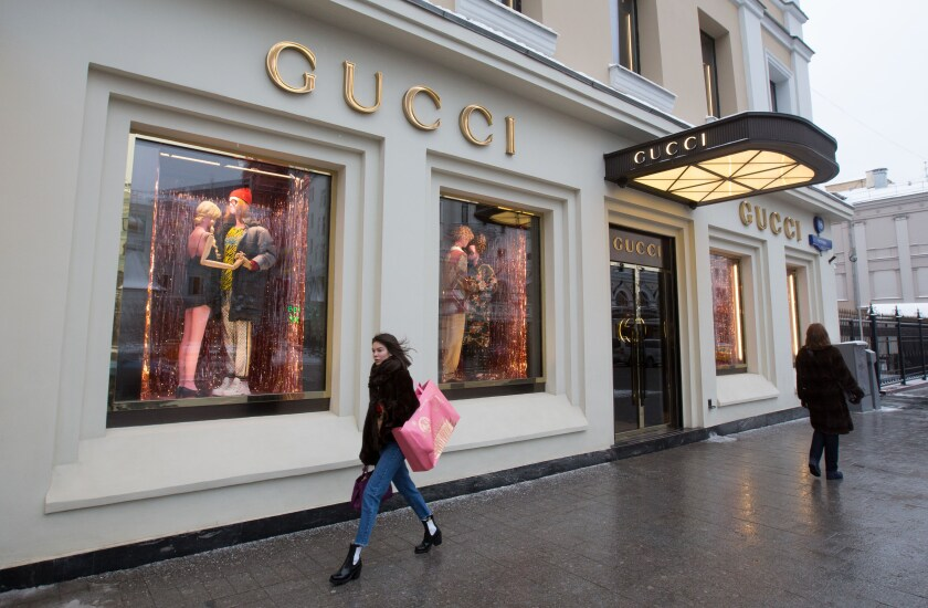 Gucci store in Moscow