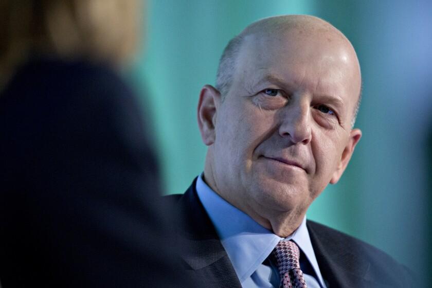 David Solomon, CEO of Goldman Sachs.