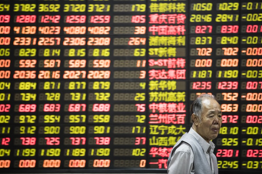 Trade sentiment has pushed China stocks lower and created a buying opportunity.