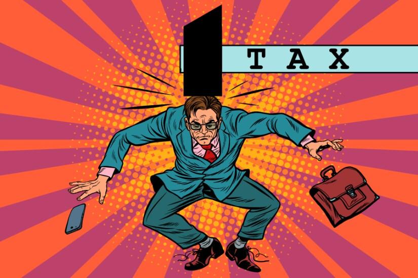 Tax hit