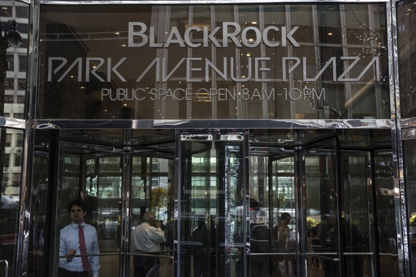 BlackRock's investment is expected to be completed in the third quarter.