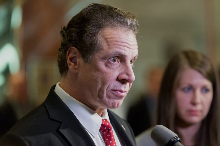 New York Gov. Andrew Cuomo, like other officials in high-tax states, is wrestling with the new tax legislation.