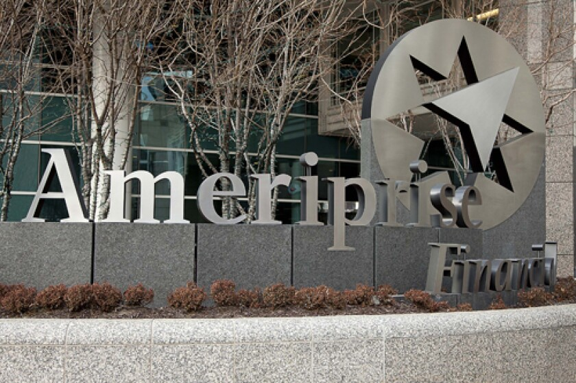 Ameriprise Recruits Advisors With More Than $450M AUM