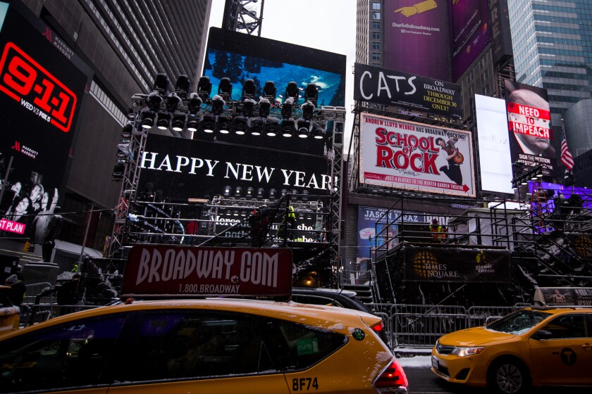 Times Square_New Years Eve