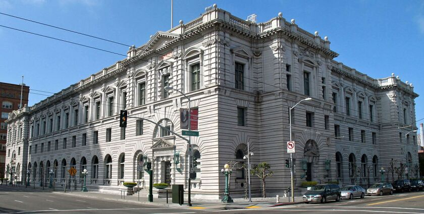 The San Francisco headquarters of the Ninth Circuit Court of Appeals