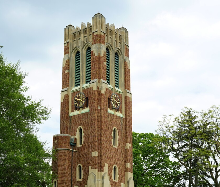 Michigan State University's Beaumont Tower Carillon