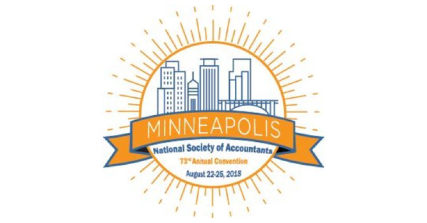 National Society of Accountants 2018 conference logo