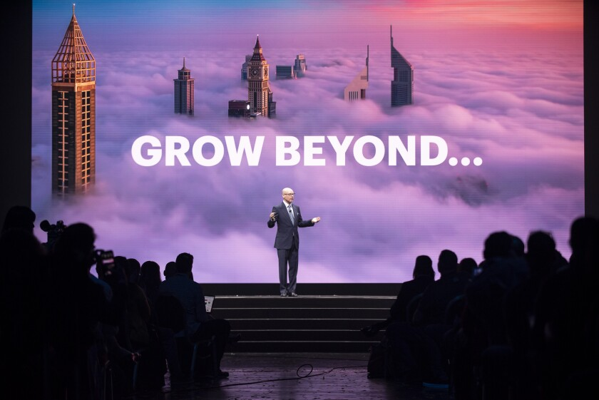 NetSuite executive vice president Evan Goldberg at SuiteWorld 2019