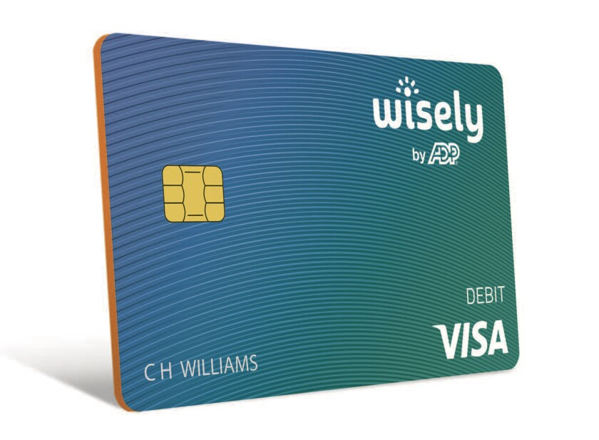 ADP Wisely Pay card