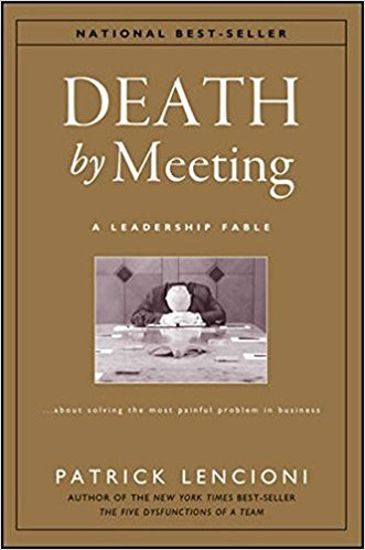 Book cover - Death by Meeting