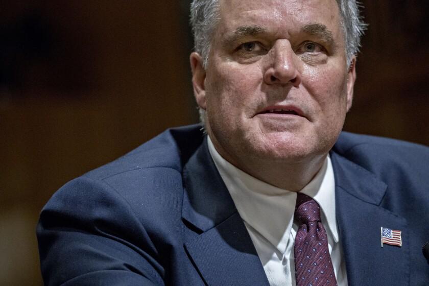 IRS commissioner nominee Charles Rettig at Senate confirmation hearing