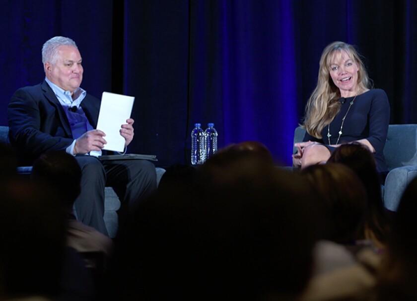 CPA.comVP Michael Cerami interviews RiceHadleyGates partner Anja Manuel at Digital CPA 2018