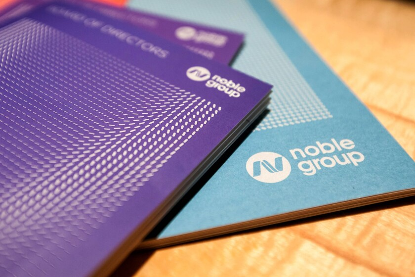 Noble Group booklets
