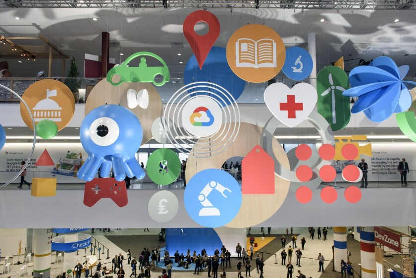 The Google Cloud Next '19 conference in San Francisco
