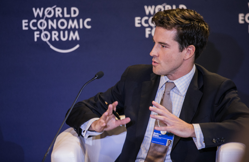 Matthew Blake, head of the financial and Monetary System Initiative at the World Economic Forum
