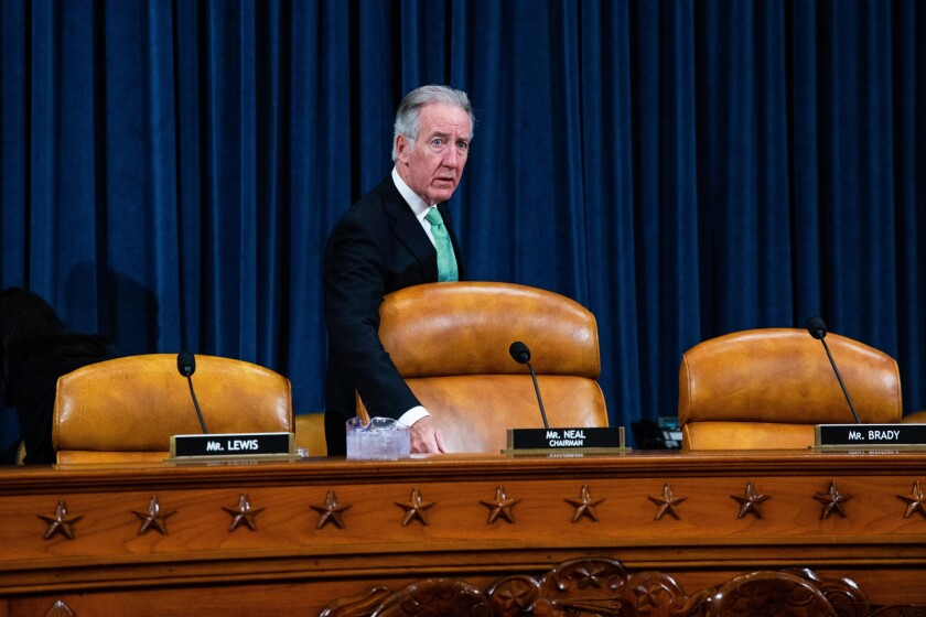 House Ways and Means Committee chairman Richard Neal, D-Mass.