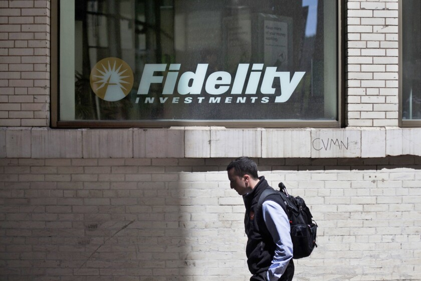 Fidelity Investment funds snapped up about 8% of advisory firm StepStone in the deal, according to a person with knowledge of the matter.