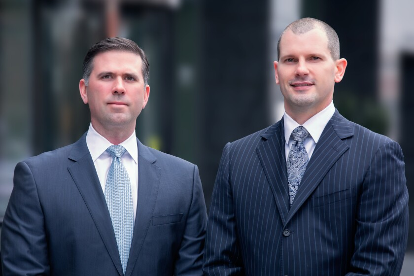 Crescent Wealth Advisory founders Jeff Taylor and Tim Wyrobek