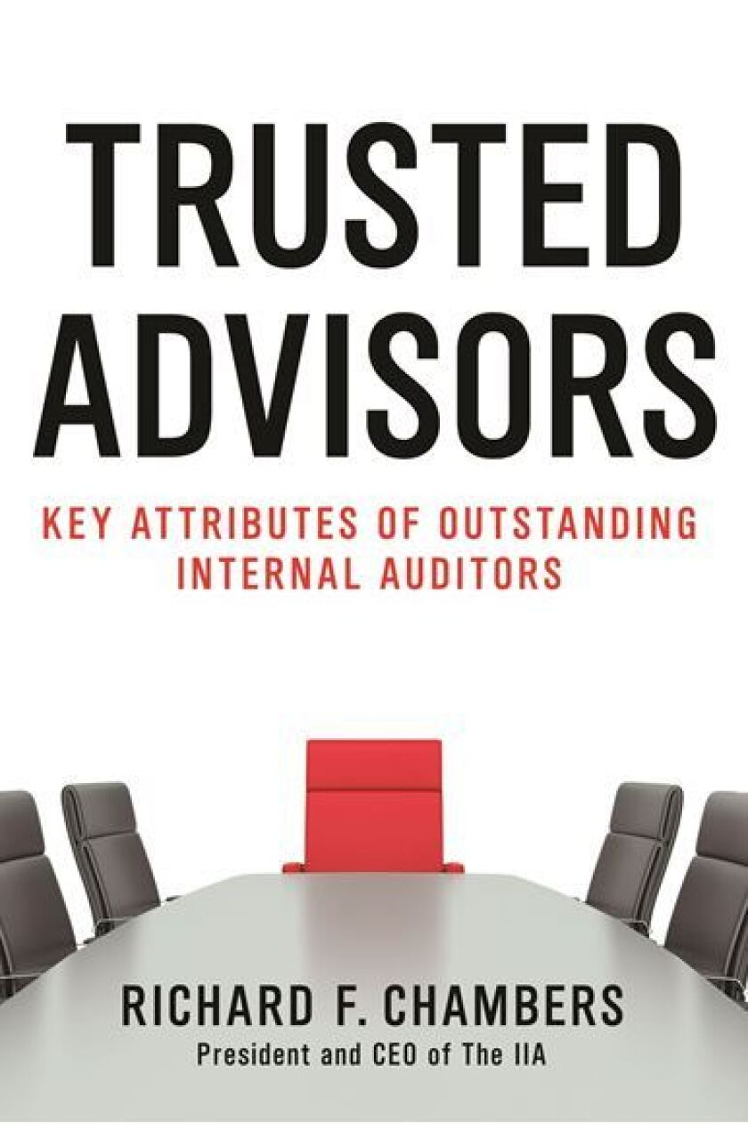 Trusted Advisors book by Richard Chambers of the IIA