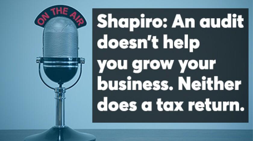 Shapiro podcast screen September 2019