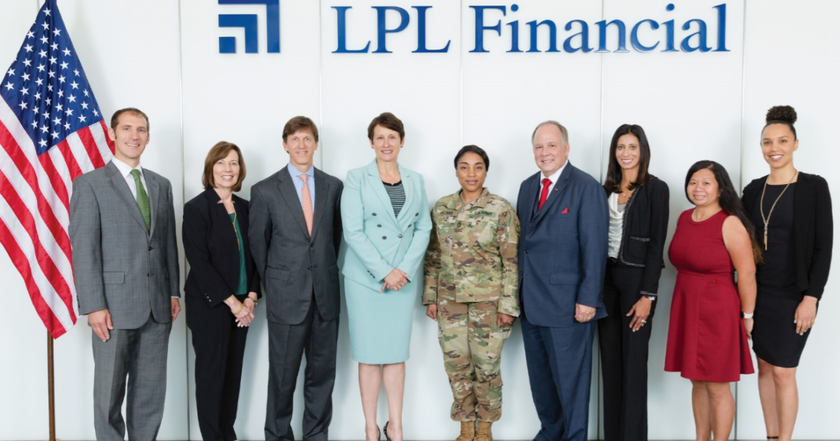 LPL Financial teams with Army Reserve on Veterans Day