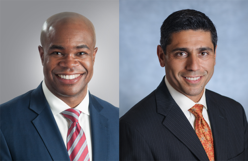 Michael Sheppard and Tony Martins, Securian Financial