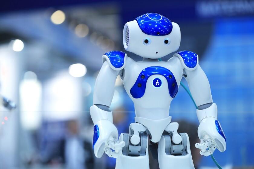 A NAO humanoid robot