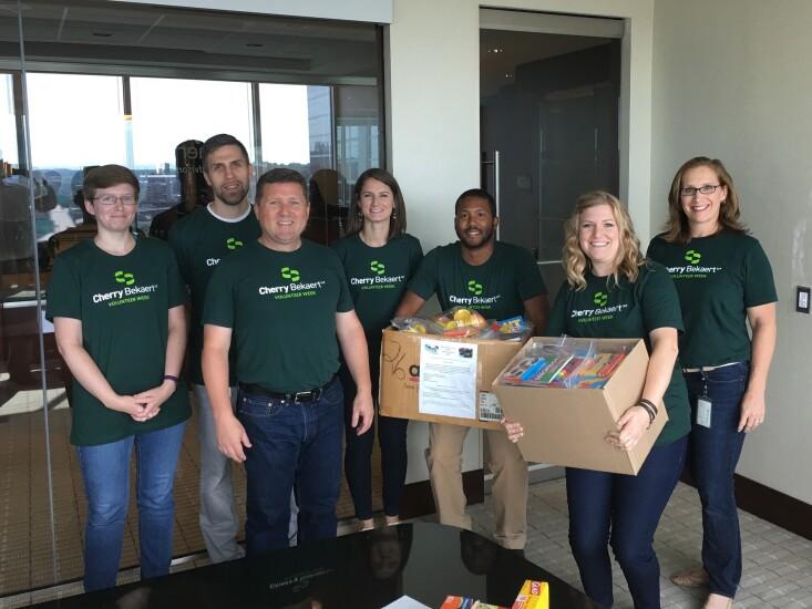 Cherry Bekaert's 2017 Volunteer Week