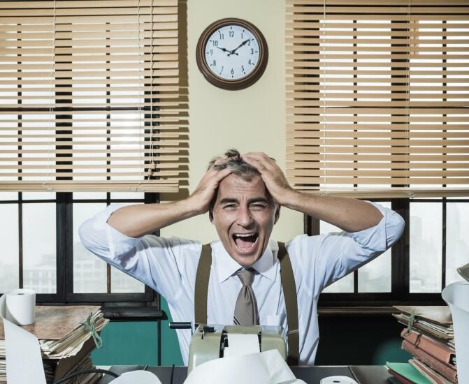 Angry accountant
