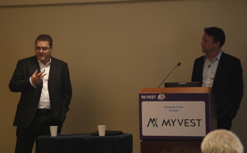 Aite Group's Alois Pirker and MyVest CEO Anton Honikman