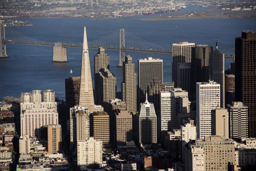San Francisco skyline Bloomberg