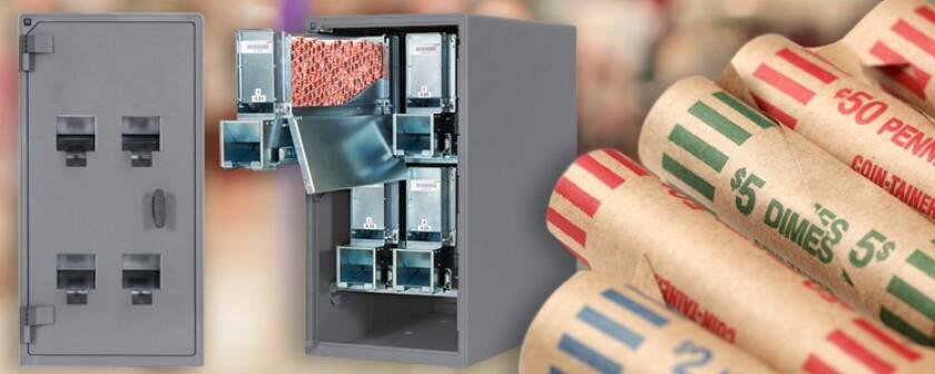 Tidel Money Vault Storage Machine