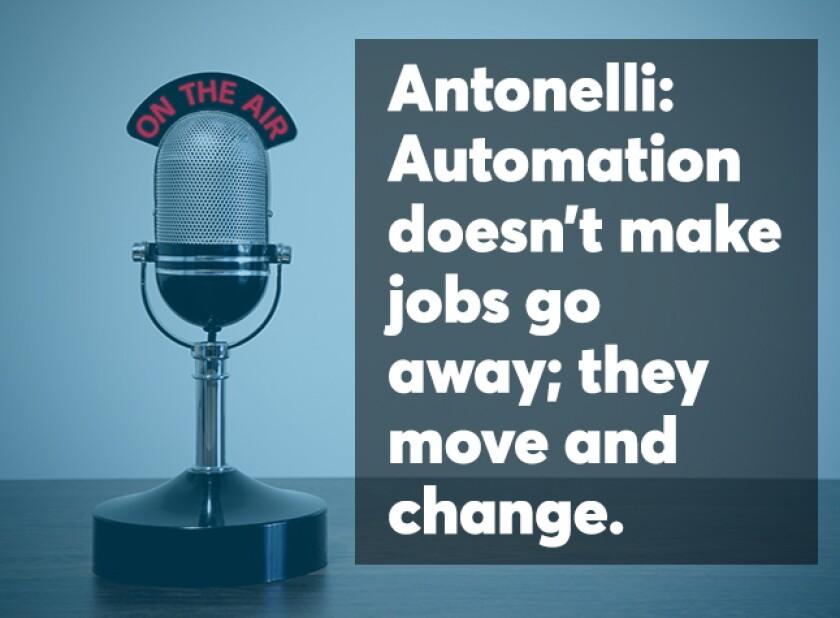 Antonelli podcast screen