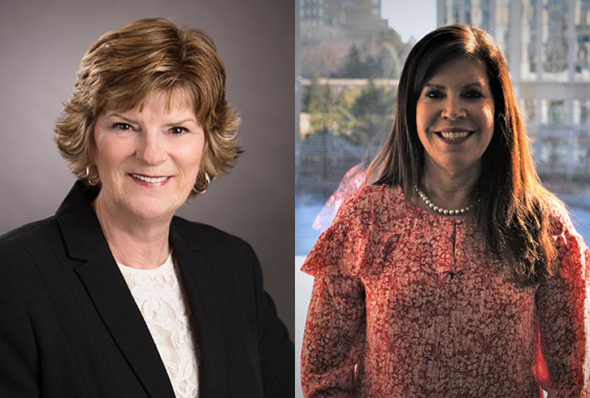 Ameriprise advisers Debra Oelke and Margo Clarke