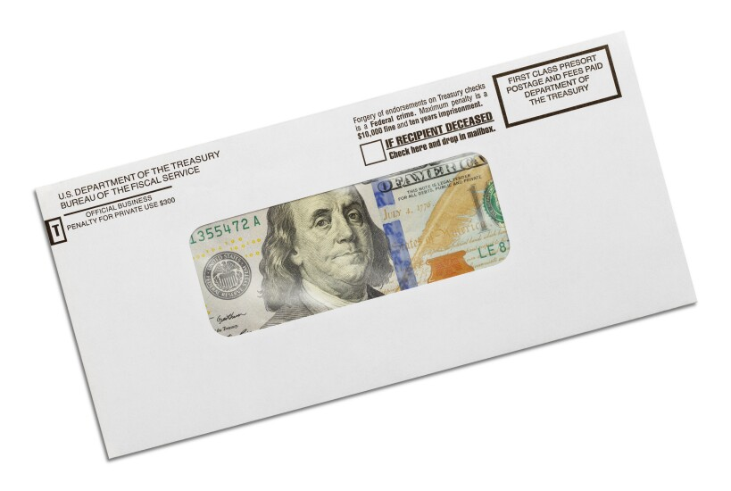 Tax-refund-envelope