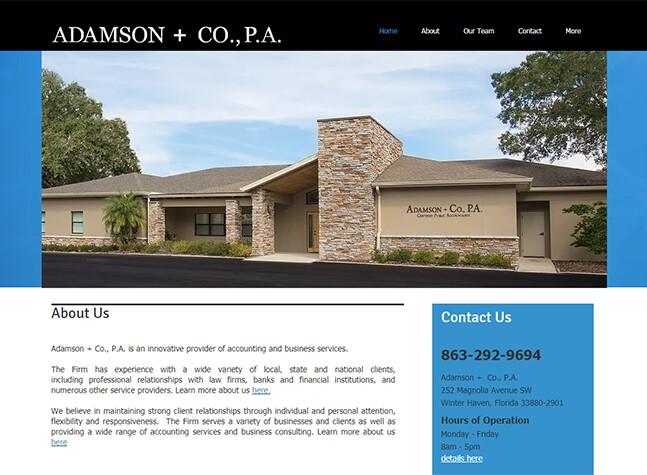 Best Firm - Adamson + Co.