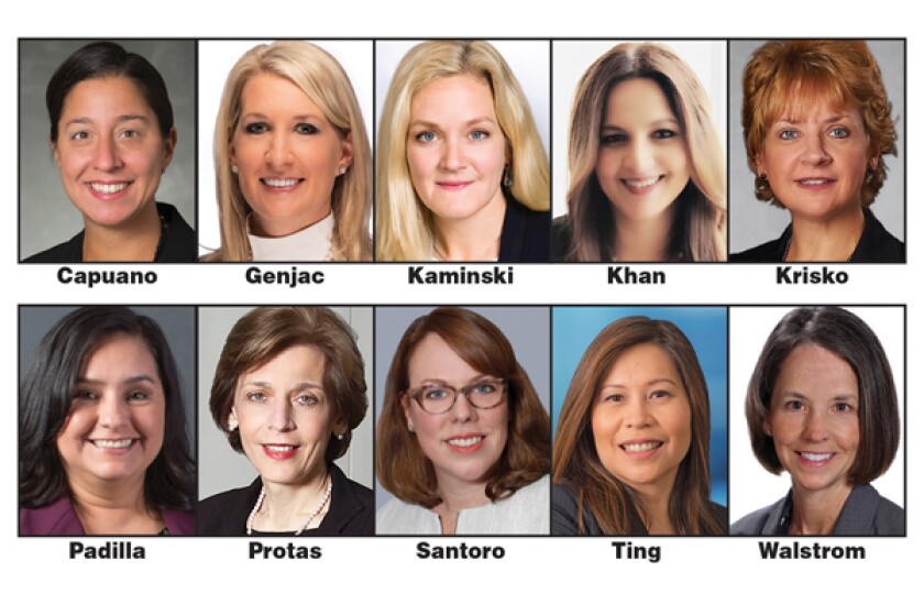 Many women selected by Money Management Executive for the 2019 Top Women in Asset Management Awards — including co-founders, managing directors, presidents and chief operating officers — have a lot to say about how women have advanced in the industry over the years.