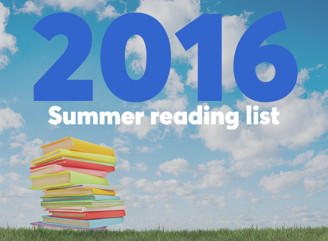 Summer reading list cover slide