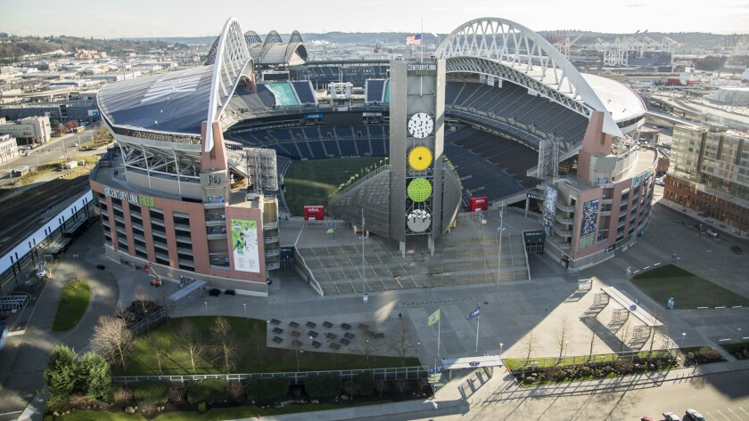 Centruylink field seahawks stadium