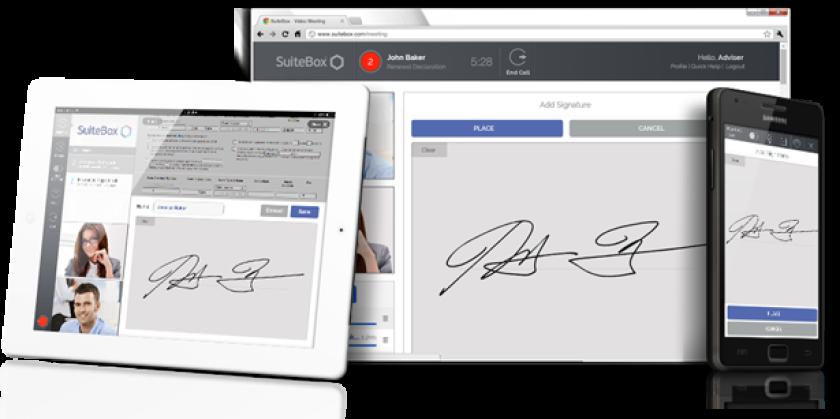 SuiteBox e-signature