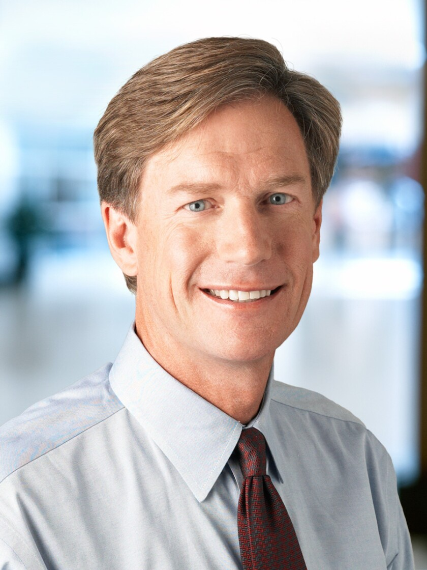 Steve Booth Baird CEO full photo provided by firm
