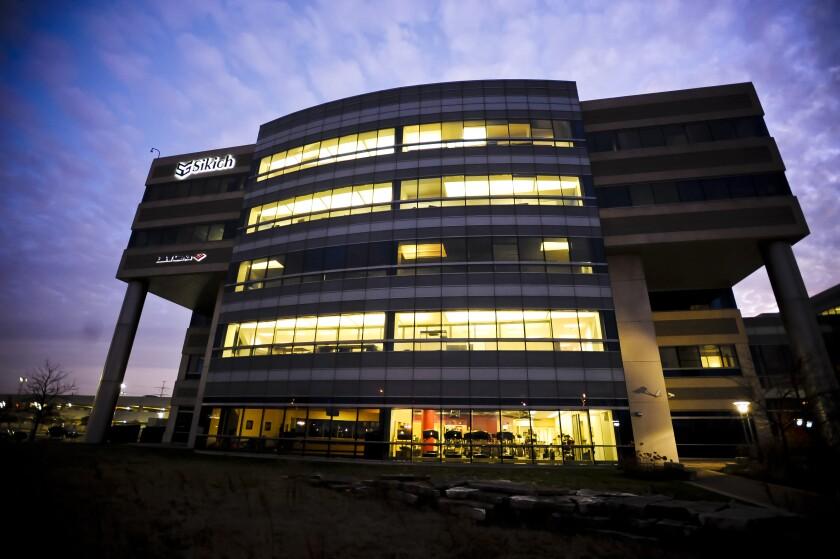Sikich LLP's headquarters in Naperville, Ill.