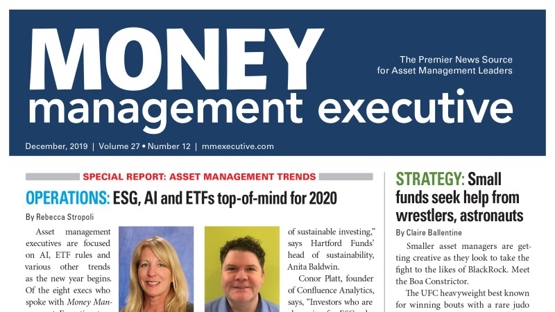Best Etfs For 2020.Esg Ai And Etfs Top Of Mind For Asset Managers In 2020