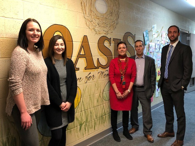 Oasis nonprofit in New Jersey honored by CPA firm Sax