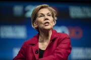 Sen. Elizabeth Warren, D-Mass. and 2020 presidential candidate, speaks during the National Education Association #StrongPublicSchools Presidential Forum in Houston on July 5, 2019.
