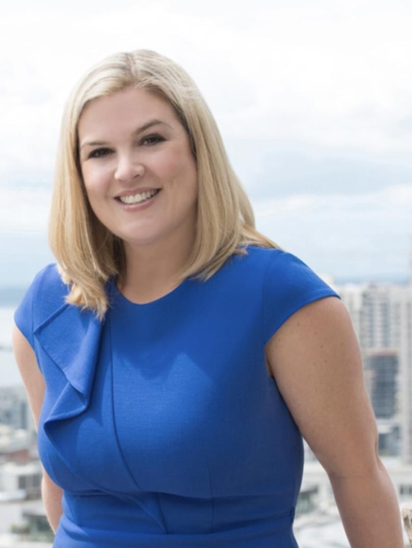 Advisor Michelle Rudd who left Wells Fargo for Summit Trail Advisors in Seattle