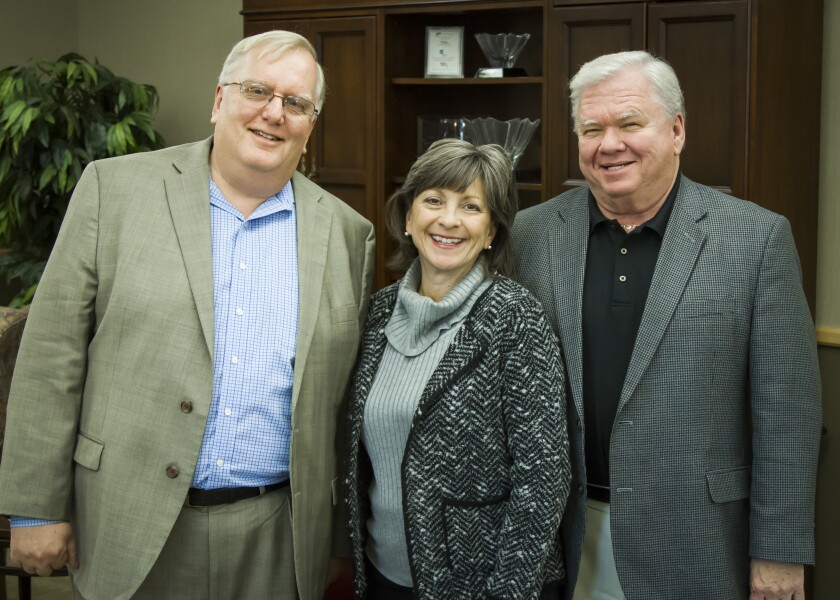 Gary Stirk, Brenda Wille-Cope, Phil Lubinski of Securities America