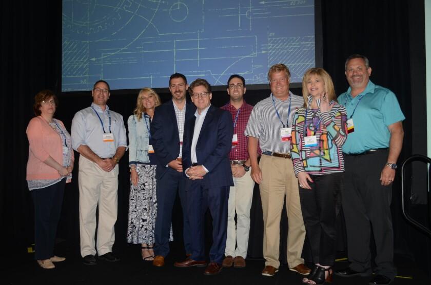 Award recipients at the 2018 Rainmaker SuperConference