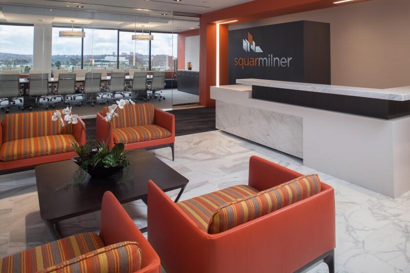 Squar Milner's lobby