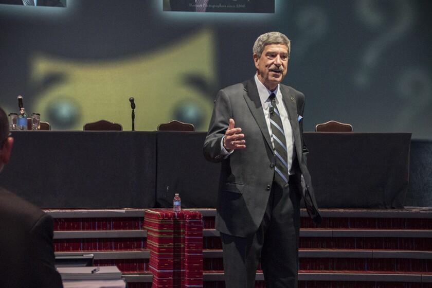 NASBA CEO Ken Bishop addresses its 110th annual meeting